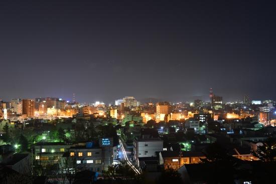 福井市内の夜景