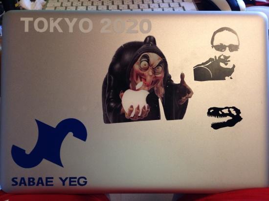 MacBookAirなどのシール