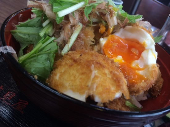 福丼県 醤油カツ丼