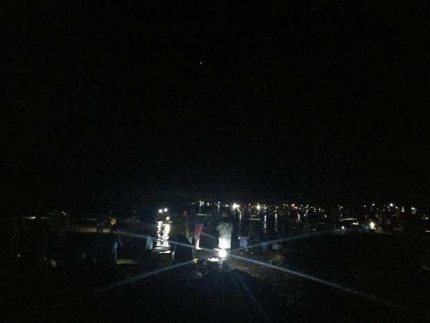 ホタルイカの身投げ 八重津浜海水浴場