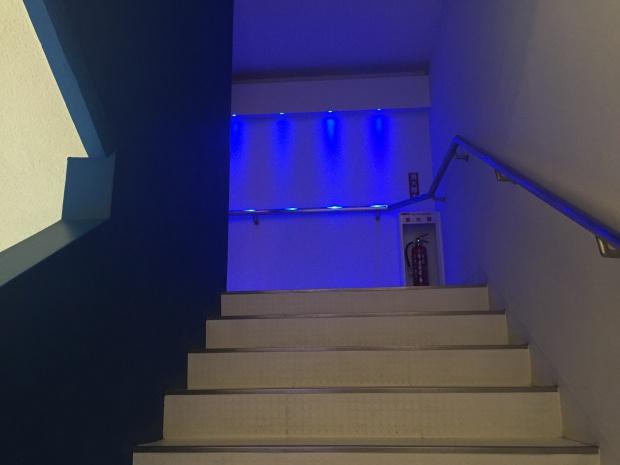 空港展示室の入り口