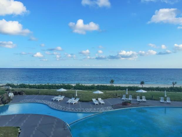 イーフビーチホテルのオーシャンビュー