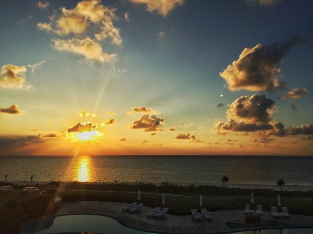 イーフビーチの日の出