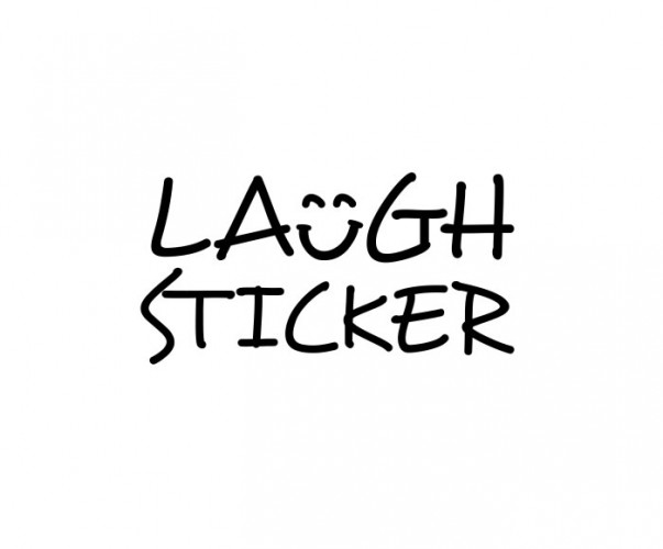 Laugh Sticker's Logomark