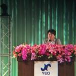 日本YEG全国大会記念講演での堀江貴文さん