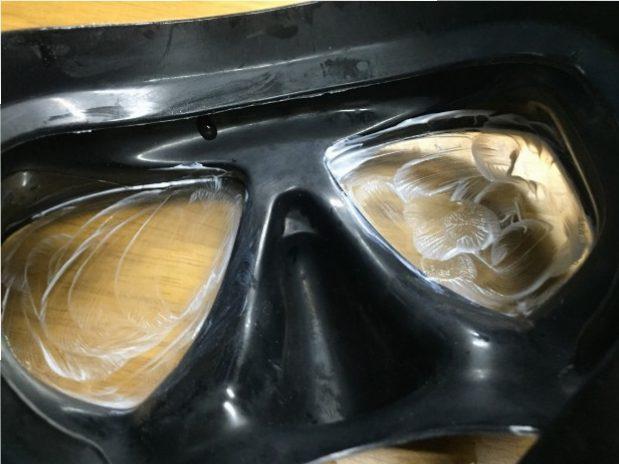 水中メガネを曇らなくする方法