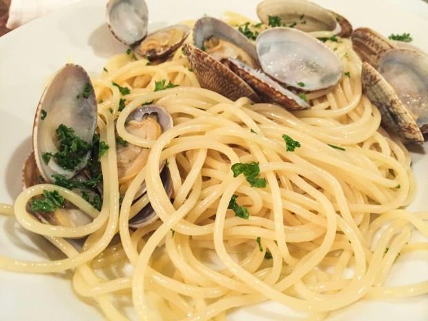 鯖江のイタリア料理店PUNTOのパスタ