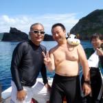 水中写真家 清水淳さんに御教授いただきました