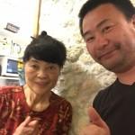 久米島のオオハッピー小島よしおさんのお母さんのお店に行った